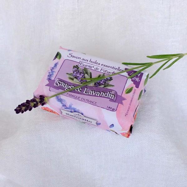 Salbei-Lavendel-Seife