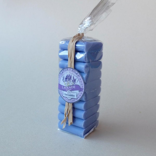 Mini-Lavendelseifen / 10 St.