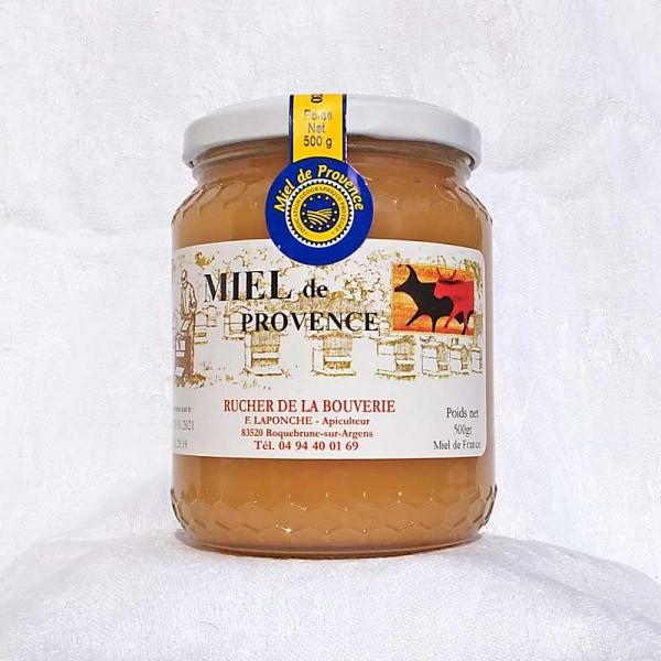 Provence-Blütenhonig 500 g, Vorderseite