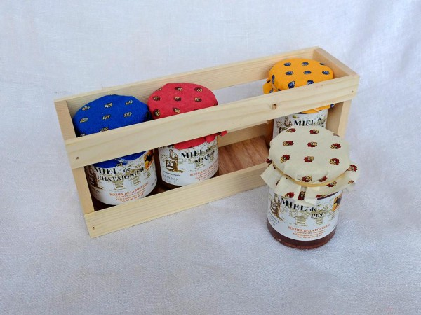Provencehonig-Geschenkset 2, 4x 125 g