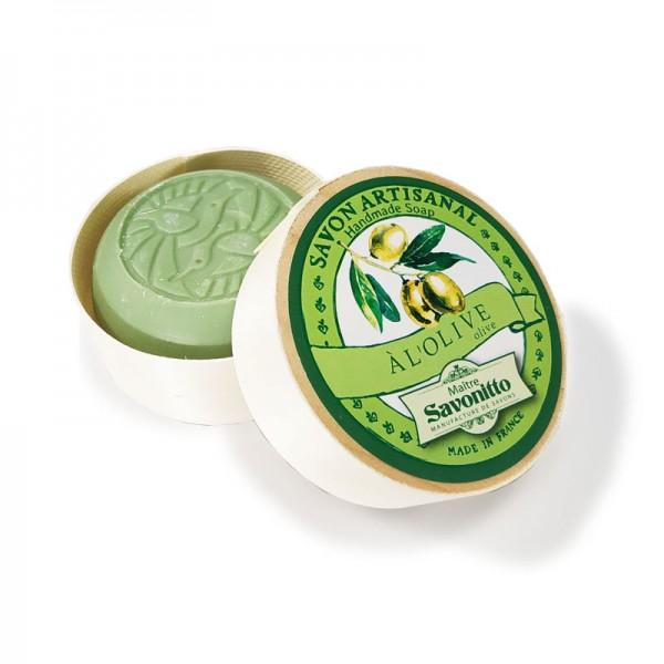 Oliven-Seife in Spanschachtel